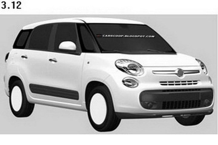 Fiat 500 MPV To Rival Maruti Ertiga In India: Updated