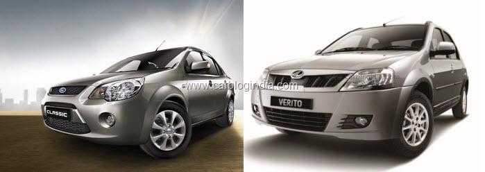 Ford Classic Vs Mahindra Verito
