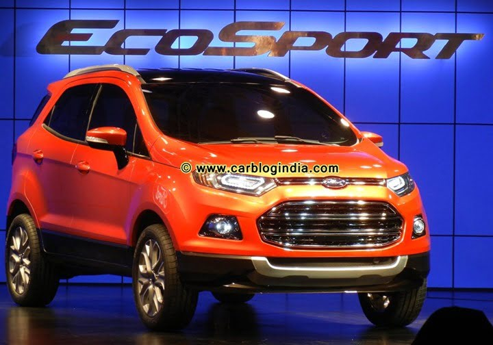Ford EcoSport Official Launch In India