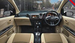 Honda Brio Interior Front Cabin