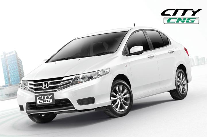 Honda City CNG Front
