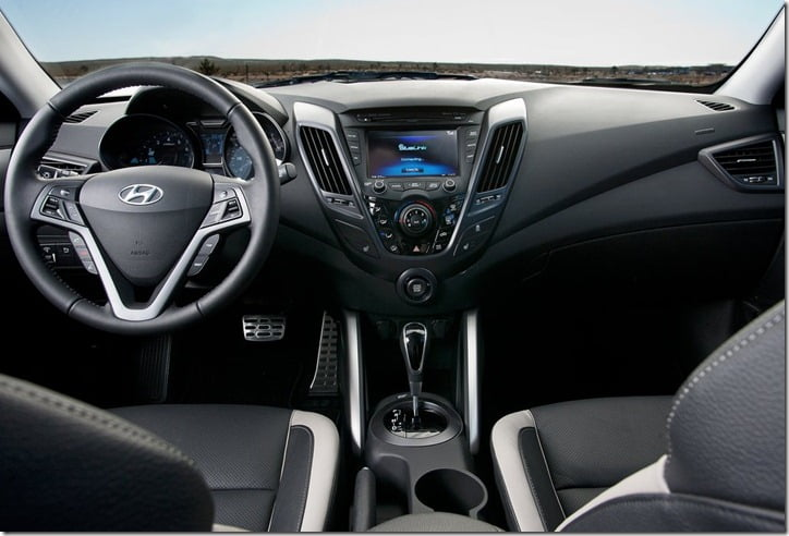 Hyundai Veloster India interior