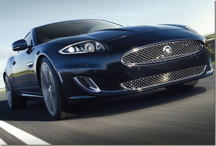 Jaguar XKR Special Edition India front