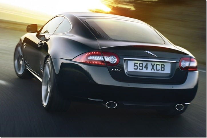 Jaguar XKR Special Edition India rear