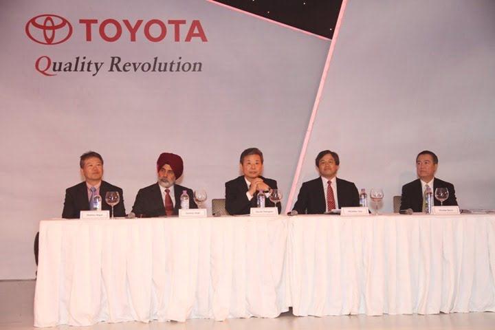 L to R Hidehisa Nagae,Sandeep Singh Singh, Hiroshi Nakagawa, Michihiko Sato, Vincente Socco