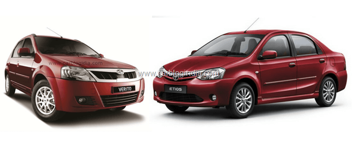 Mahindra Verito Vs Toyota Etios– Which Is Better Option And Why?