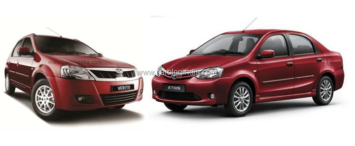 Mahindra Verito Vs Toyota Etios