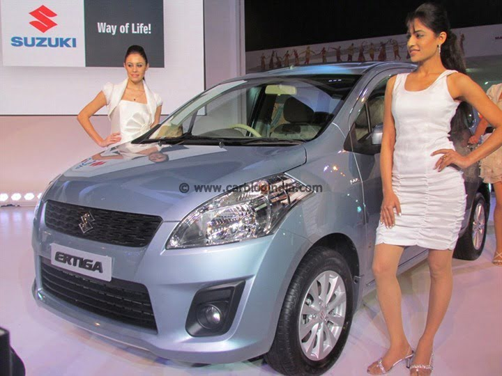 Maruti Ertiga Automatic Launch Possible In on Cng Tank Capacity
