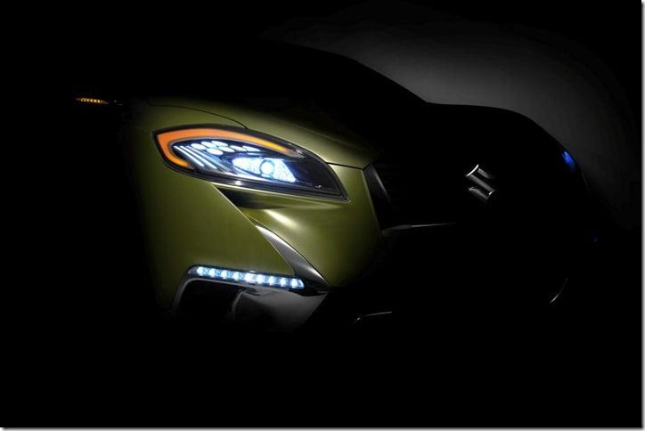 Suzuki S-Cross Concept Car teaser