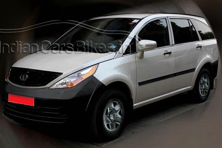 Tata Aria Taxi Cab Version To Challenge Innova and Xylo?