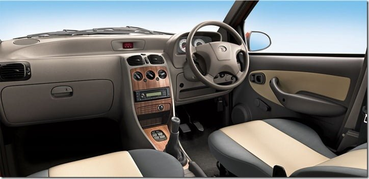 Tata Indica eV2 interiors