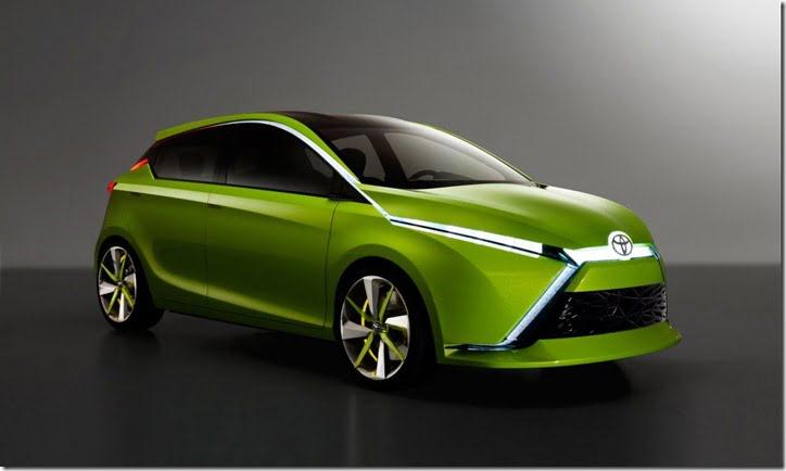 Toyota Dear Qin Hatchback Concept