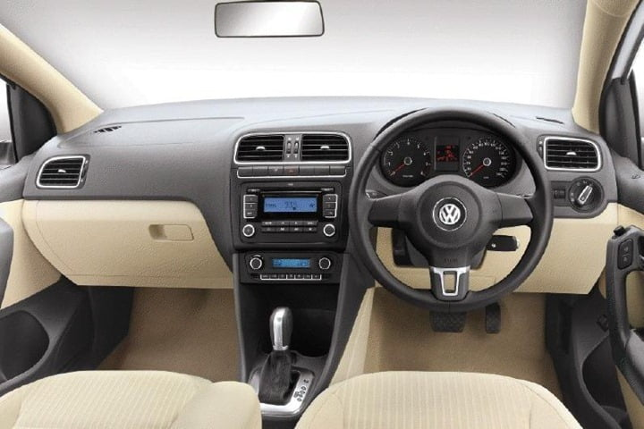 Volkswagen Polo Sedan with Automatic transmission