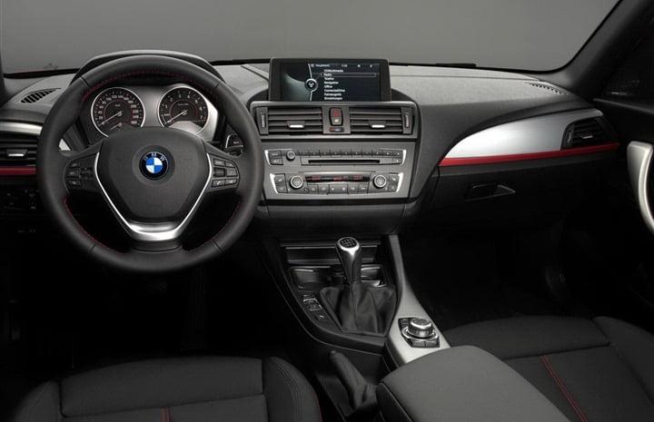 2012 BMW 114d Diesel Entry Level interior