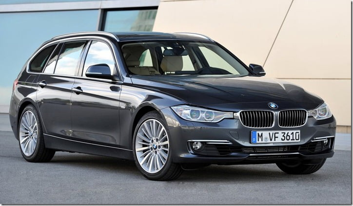 2012 BMW 3-Series Touring