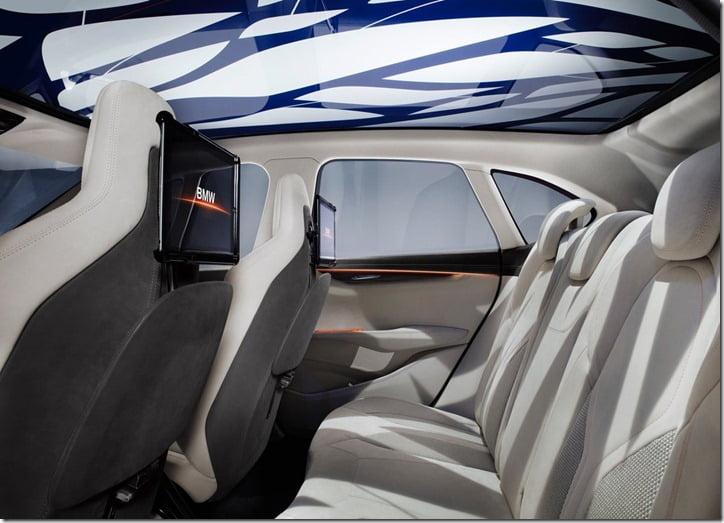 2012 BMW Active Tourer Concept interior rear