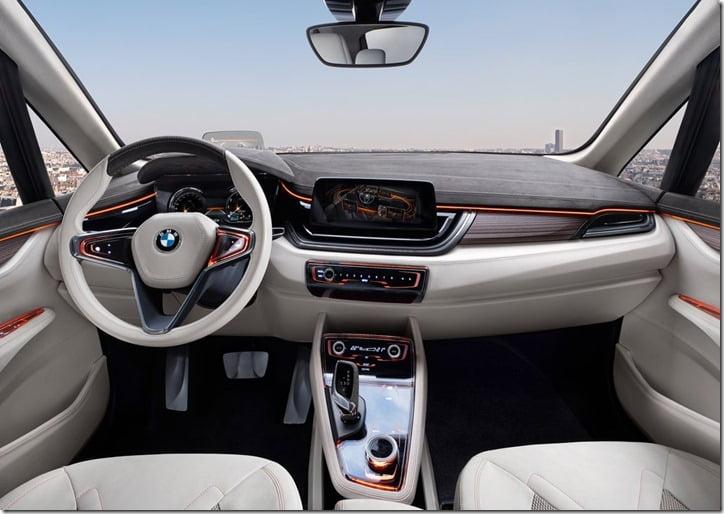 2012 BMW Active Tourer Concept interior