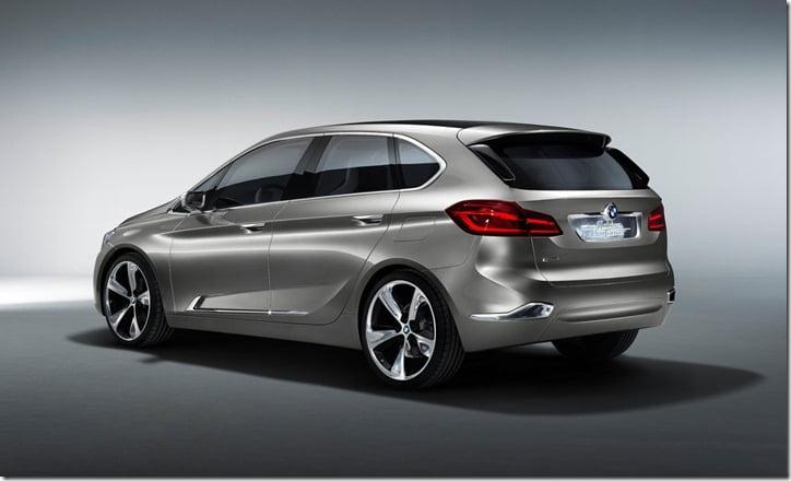 2012 BMW Active Tourer Concept rear