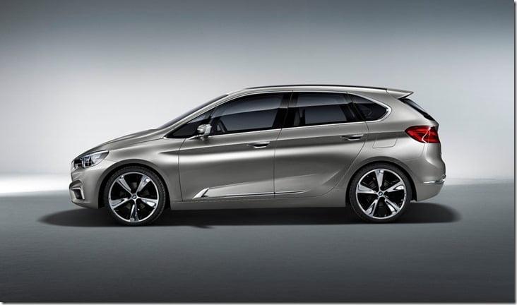 2012 BMW Active Tourer Concept side