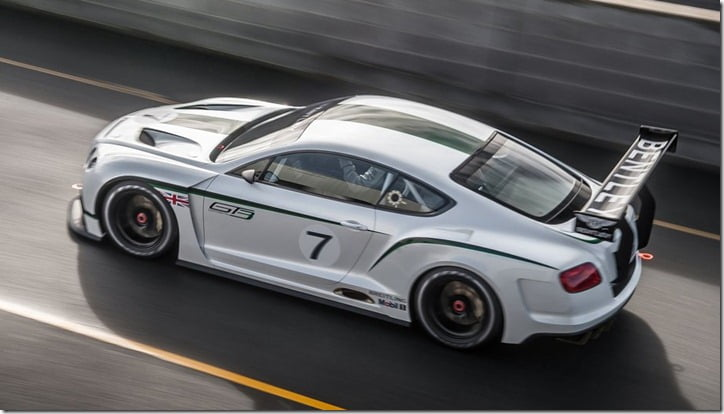 2012 Bentley Continental GT3 Concept top