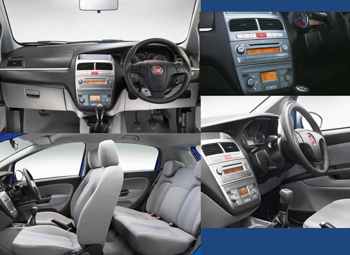 2012 Fiat Punto India Interiors