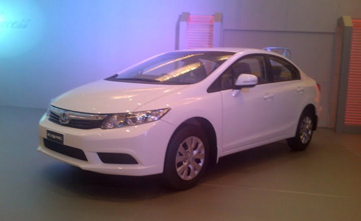 2012 Honda Civic Pakistan launch 1
