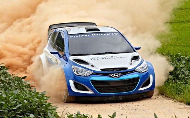 2012 Hyundai i20 WRC Rally Race Car 1