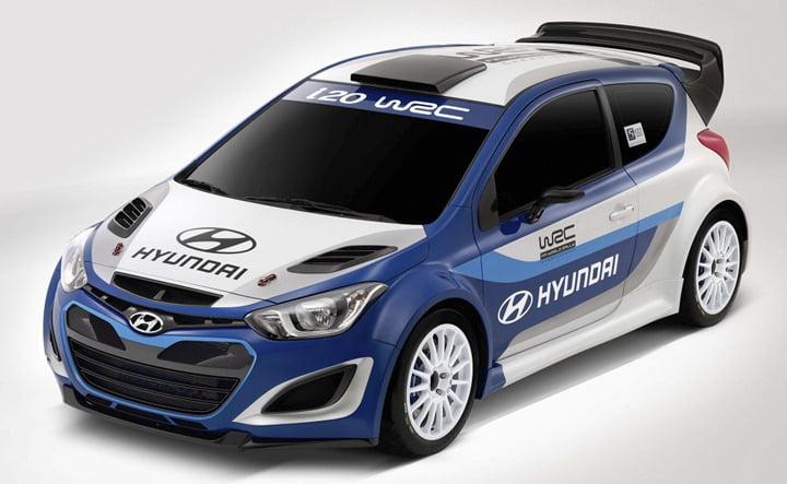 2012 Hyundai i20 WRC Rally Race Car