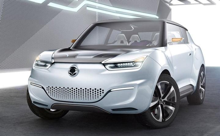 2012 SsangYong e-XIV Concept front