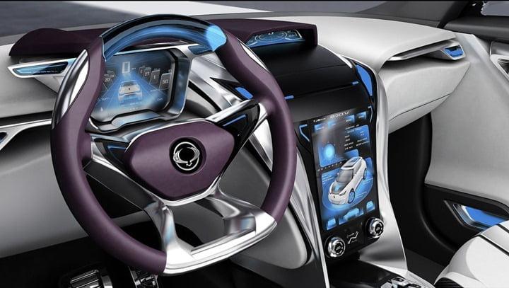 2012 SsangYong e-XIV Concept interior 1