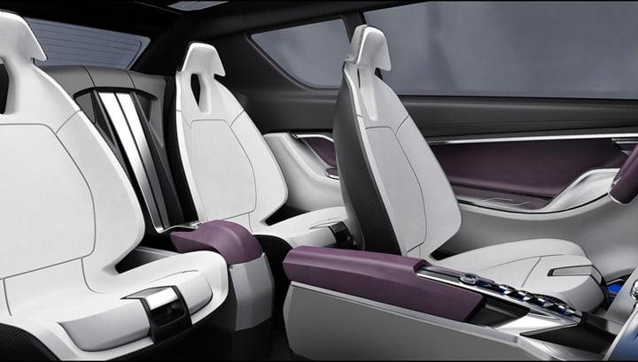 2012 SsangYong e-XIV Concept interior 2