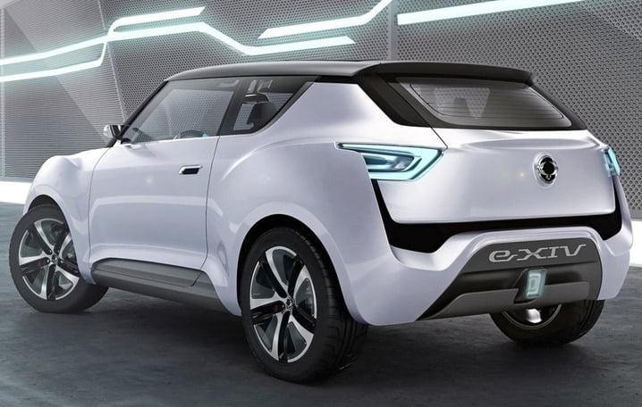 2012 SsangYong e-XIV Concept rear