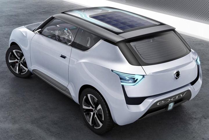 2012 SsangYong e-XIV Concept top