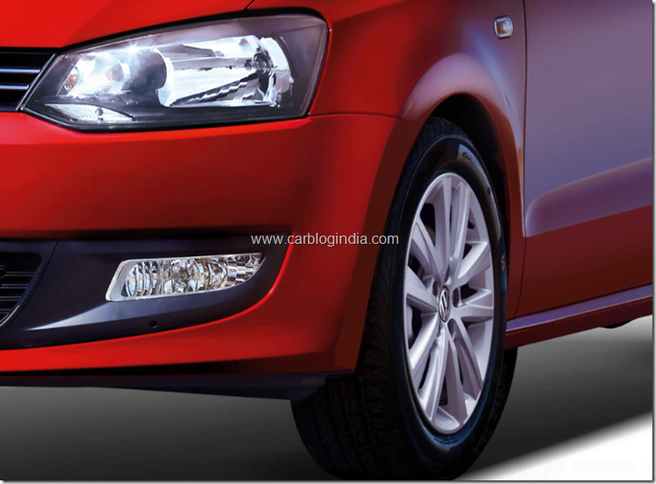 2012 Volkswagen Polo alloy wheels