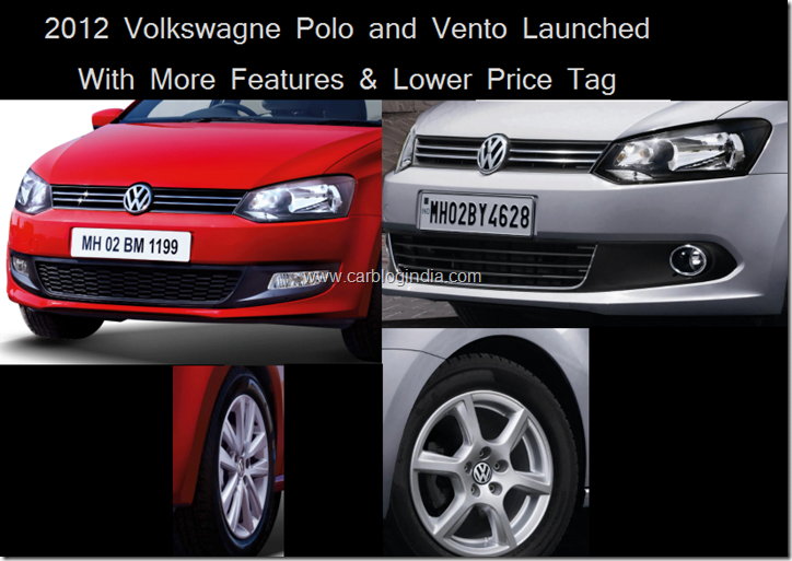 2012 Volkswagen Polo and Vento Launched