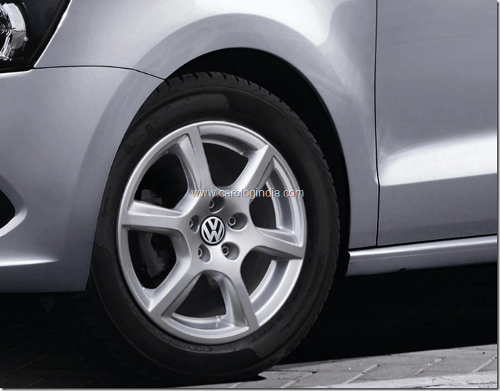 2012 Volkswagen Vento Alloy Wheel