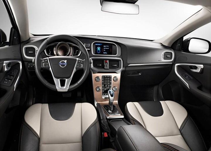 2012 Volvo V40 Cross Country hatchback interior
