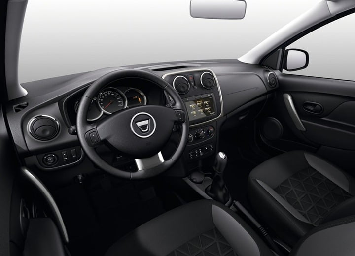 2013 Dacia Sandero Stepway Compact SUV interior 1