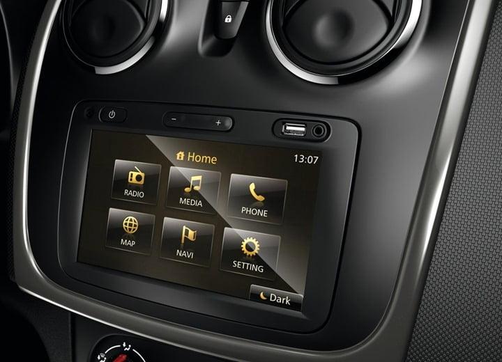 2013 Dacia Sandero Stepway Compact SUV interior 2