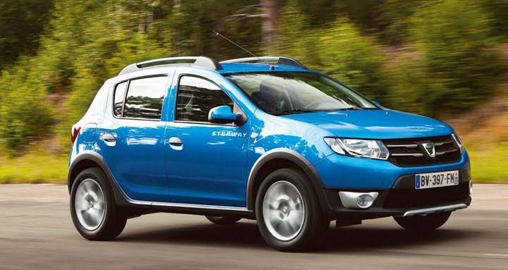 2013 Dacia Sandero Stepway Compact SUV side