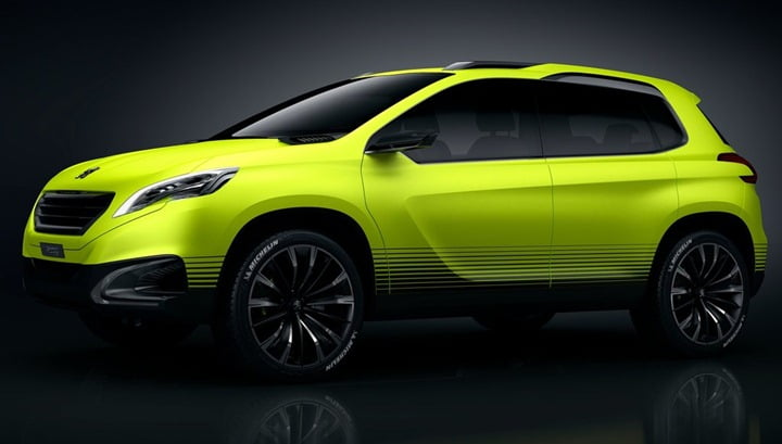 2014 Peugeot 2008 Compact SUV Concept side