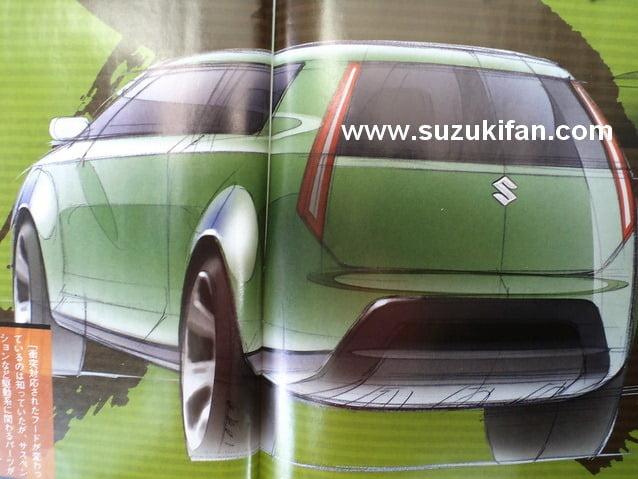 2014 Suzuki Jimmy Based on XA-Alpha rear