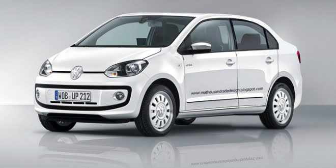 VW India Evaluating Volkswagen Up Compact Sedan and Polo Compact Sedan