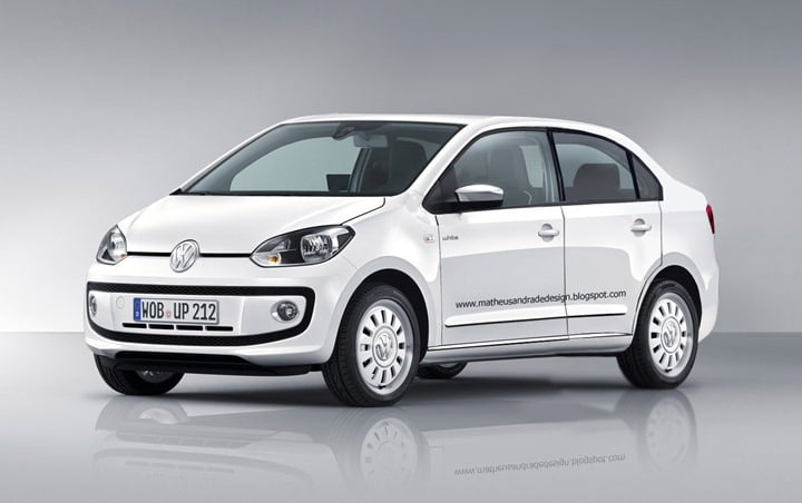 Volkswagen Up Compact Sedan India