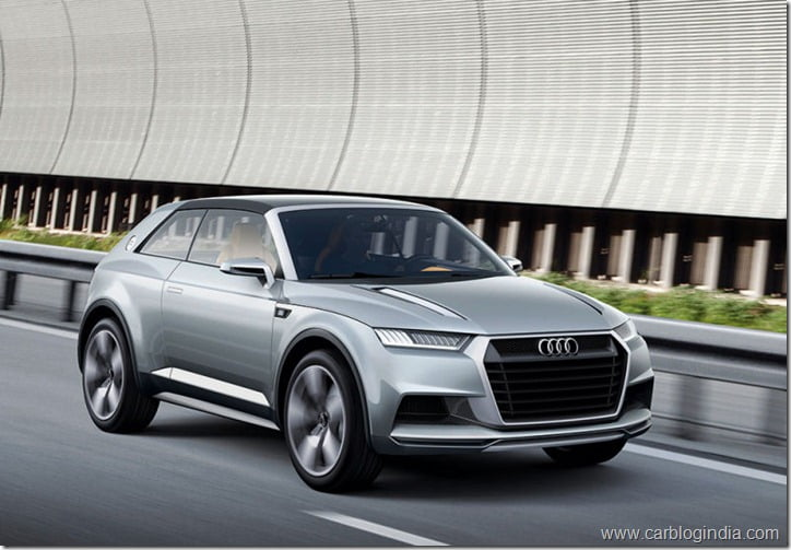 audi q2 to be inspired by audi crosslane suv coupe. Black Bedroom Furniture Sets. Home Design Ideas