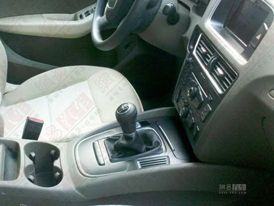 Audi Q5 Economy Variant For China interior