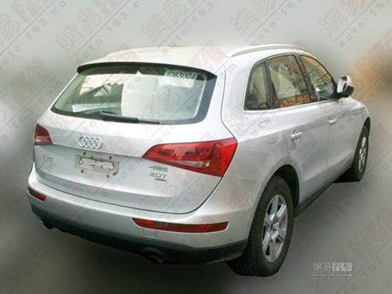 Audi Q5 Economy Variant For China rear