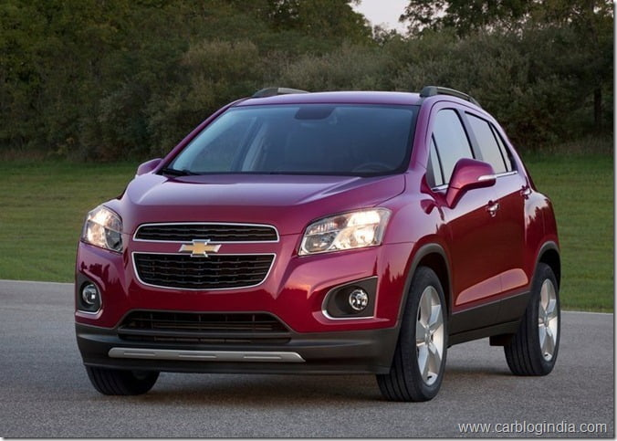 Chevrolet Trax Compact SUV (4)