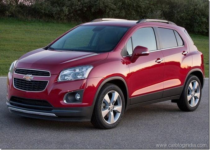 Chevrolet Trax Compact SUV (5)