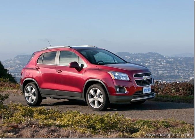 Chevrolet Trax Compact SUV (6)